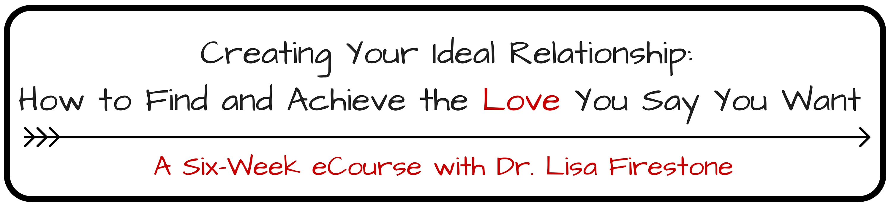 Creating Your Ideal Relationship-How to Find and Achieve the Love You Say You Want